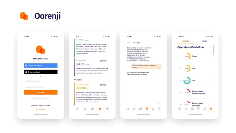 Oorenji app