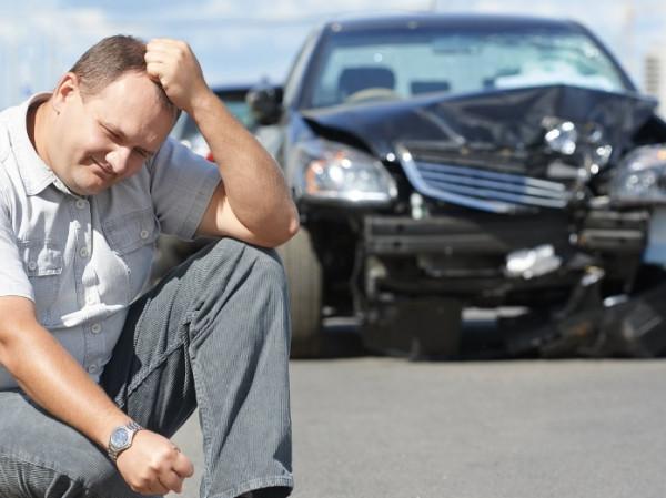 Víctima de accidente de coche