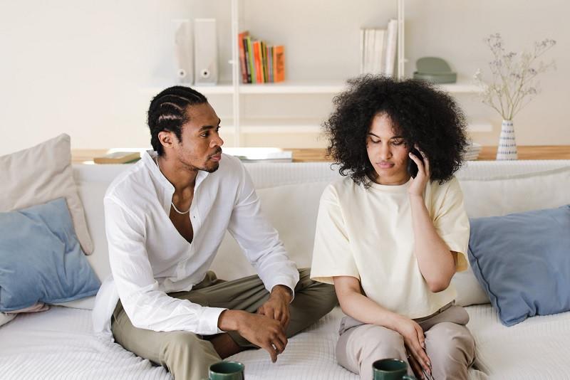 Déficit de comunicación en un matrimonio