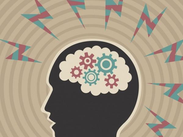 Imagen icónica de un cerebro.