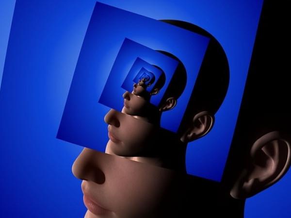 Cabeza humana en 3D