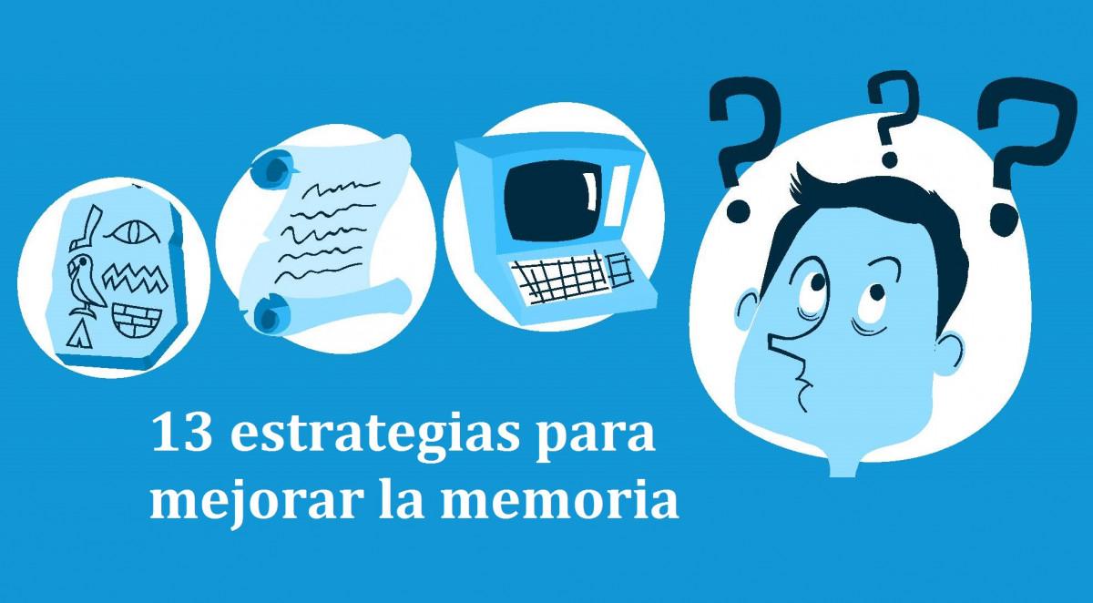 13 estrategias prácticas para mejorar la memoria