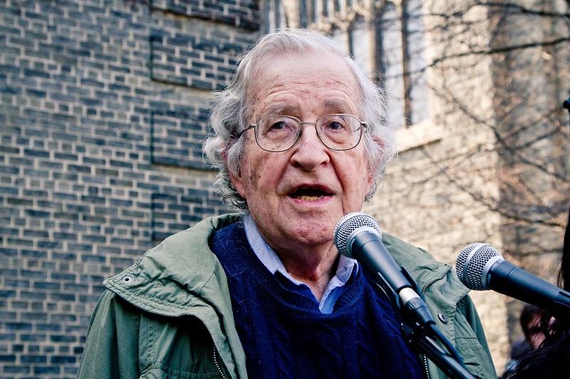 Noam Chomsky | Wikimedia