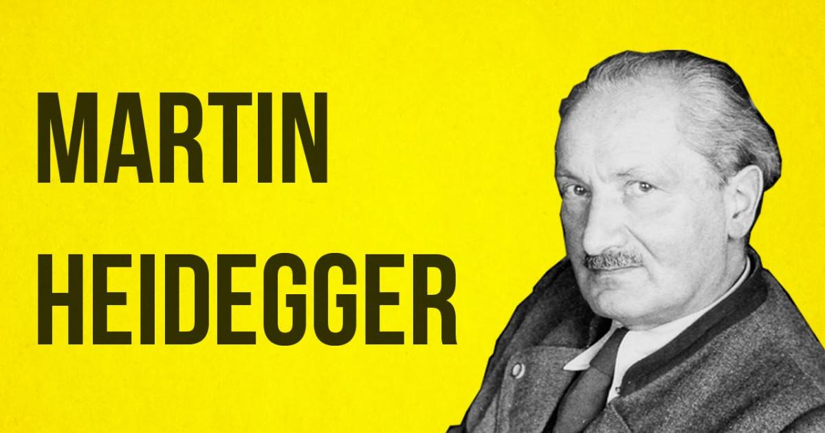 Las 20 Mejores Frases De Martin Heidegger