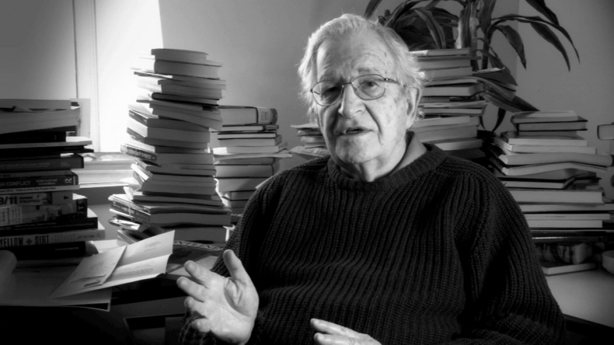 Foto de Noam Chomsky