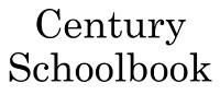 Century Schoolbook
