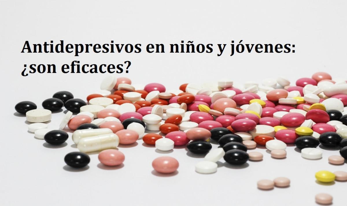 Los antidepresivos no son eficaces en niños y jóvenes, según un estudio