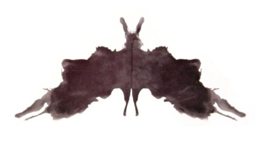 El test de las manchas de tinta de Rorschach