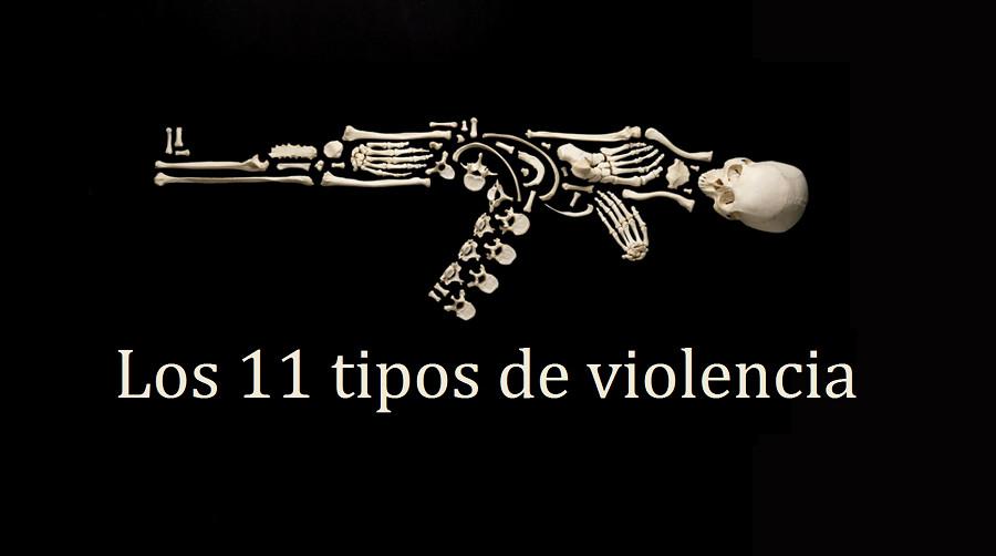 Los 11 tipos de violencia (y las distintas clases de agresión)