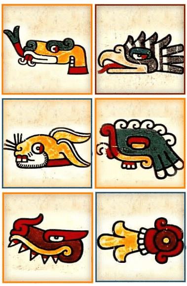Símbolos del Náhuatl