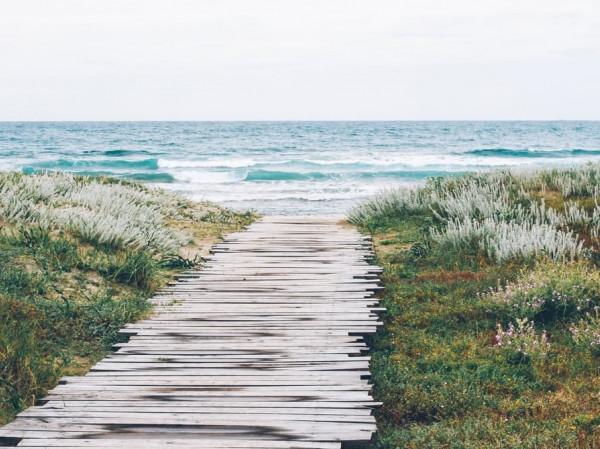 Camino al mar