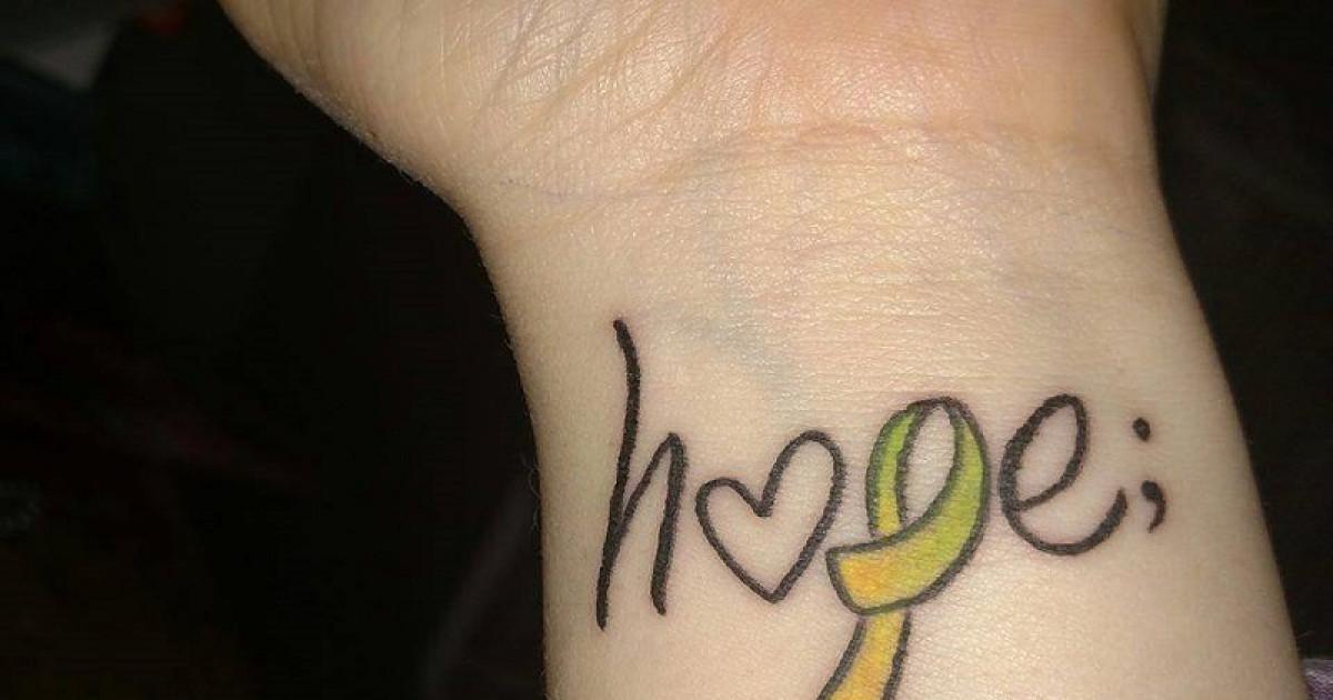 Qué Significa El Tatuaje Del Punto Y Coma