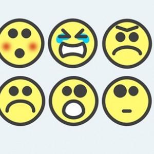 Los 6 emoticonos que menos nos gusta sentir