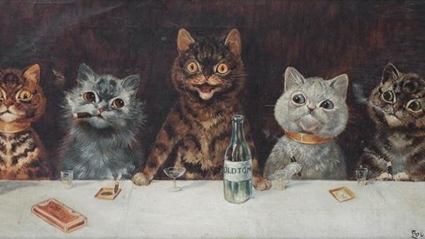 Louis Wain y los gatos: arte a través de la esquizofrenia - Arte ...