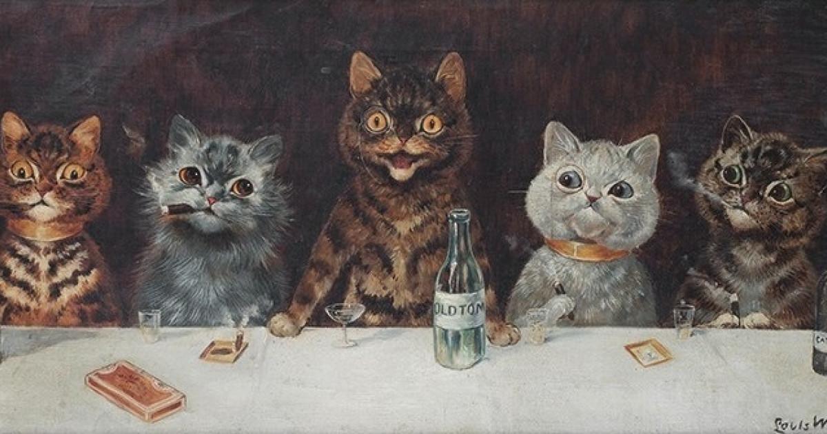 Louis Wain y los gatos: el arte a través de la esquizofrenia