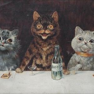Louis Wain y los gatos: el arte visto a través de la esquizofrenia