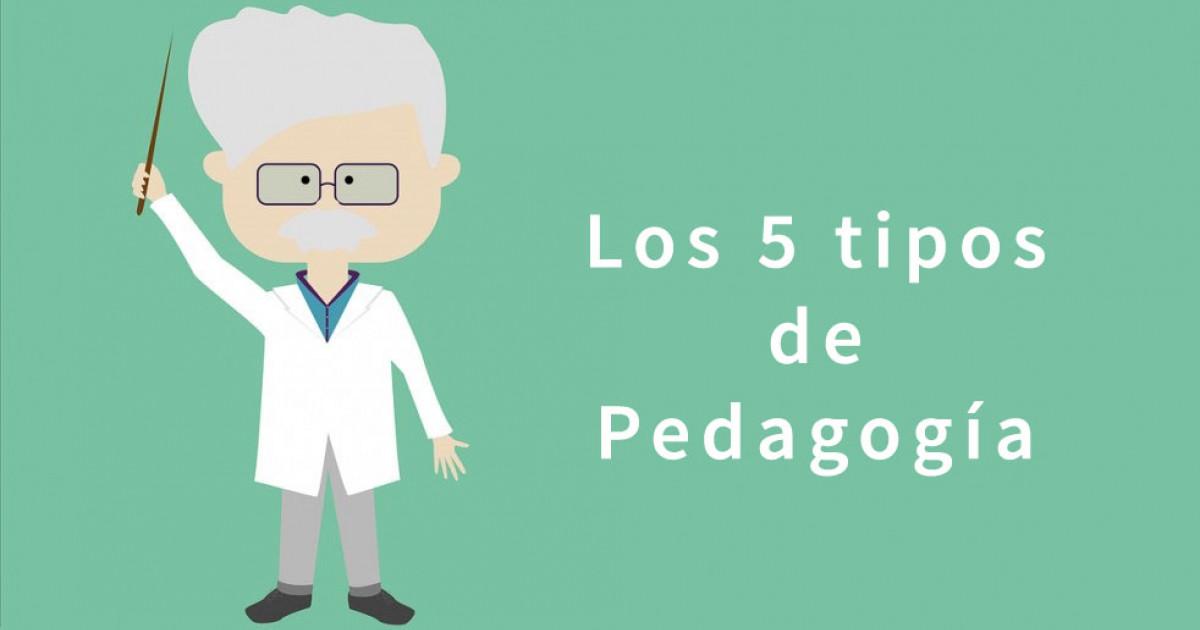 Tipos de pedagogos
