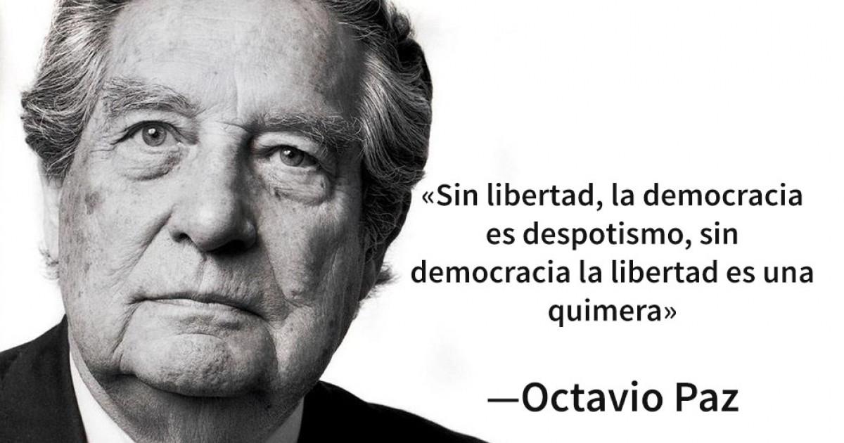 Las 30 mejores frases de Octavio Paz, el poeta mexicano