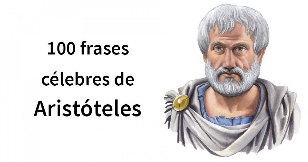 Las 100 Mejores Frases De Aristóteles
