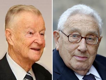 Kissinger y Brzezinski
