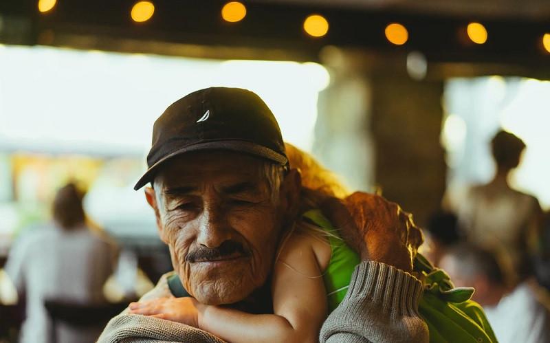 El abuelo es un pozo de sabiduría