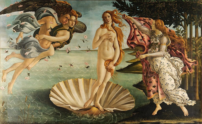 Nacimiento de Afrodita