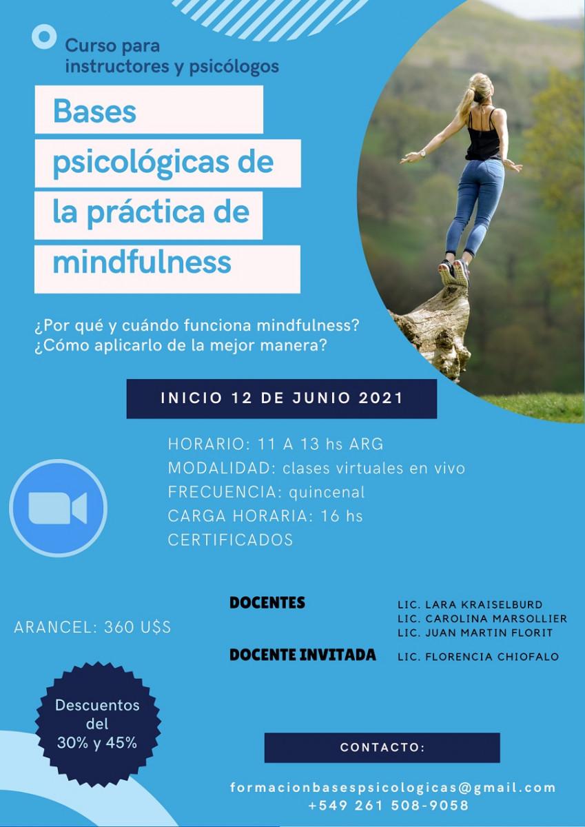 Curso de Mindfulness en Psi-TCC